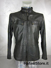 Herren Jacke BELSTAFF 713195 New Birling Prof Vent Man Antique Black Schwarz Neu