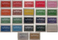 Premium Pigment Craft Ink Pad Rubber Stamp 20 Colours Hobby SCRAPBOOK Card