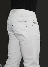 NWT DIESEL Fashion Men Slim Tapered Leg Darron 8QU white Pants Jeans