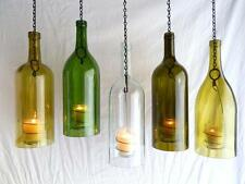 ~BoMoLuTra~ Wine Bottle Candle Holder Hurricane Hanging Lantern Big 1.5 Liter