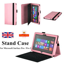 Folio Holder Leather Case Cover Stand for Microsoft Surface RT & Surface 2 RT