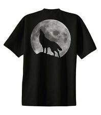Wolf T-shirt Glow In The Dark Printed Tee