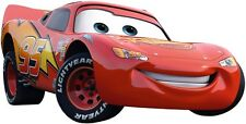 LIGHTNING MCQUEEN CARS Disney Decal Removable WALL STICKER Art FREE SHIPPING