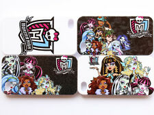 Monster High Group Cartoon Design Pattern Back Case Cover For Apple iPhone 4 4S