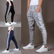 New Mens Casual Sports Skinny Harem Taper Sweat Pants Jogging Trousers Slacks