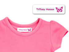 Personalised Iron-on Clothing Name Labels for Kids' School Uniform - Medium Size