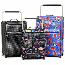 Super Lightweight IT Large Medium Small Cabin Luggage Suitcase Trolley Case Bag