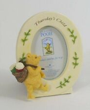 Classic Winnie the Pooh Days of the Week Photo Frames Ideal baby Gift