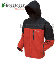FROGGS TOGGS RAIN GEAR-NT6601-110-BLACK/RED JACKET TOAD-RAGE TOADZ GOLF WET WEAR
