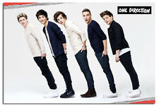 One Direction Leaning Large Maxi Wall  Poster New - Laminated Available