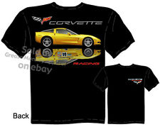 Corvette Shirts C6 Corvette Clothing Chevy T Shirts C-6 Chevrolet Race Apparel