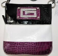 GUESS Chastity Crossbody Bag Handbag Purse Sac Bolsa Pink or Rasp-Multicolor