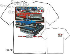 Chevy Shirt Impala T Shirt Chevrolet Apparel Muscle Car Tee 1963 1964 1965 SS