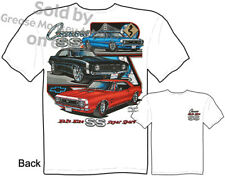 Camaro T Shirts Chevy Shirt Muscle Car Clothing Super Sport 1967 1968 1969 Tee