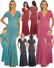 Mother's Bride/Groom Dress Gown Designer Formal Occasion Homecoming Evening 6~20
