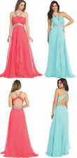 3 COLOR PAGEANT BRIDESMAIDS COCKTAIL DRESS HOMECOMING EVENING FORMAL GOWN 4-16