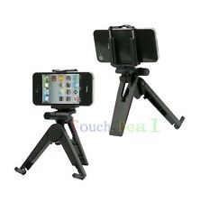 Black Tripod Camera Mount Holder Stand FOR Huawei cell Phones 2013 UK