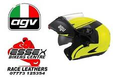 AGV COMPACT COURSE 2014 FLIP UP SYSTEM HELMET DROP DOWN VISOR BLACK YELLOW