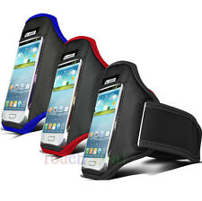3X Running Sport Armband GYM Bag Skin Case Cover FOR HTC Mobile Cell Phones UK