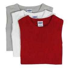 Old Navy - Tank Top - 3-er Set - White, Gray, Red Women's Top Size Xs-xl