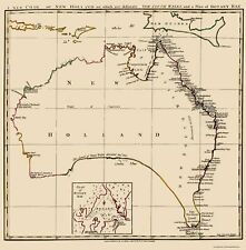 AUSTRALIA (NEW HOLLAND) BY J N STOCKDALE 1767