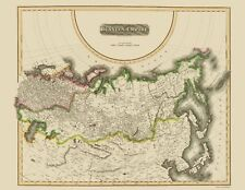 Old Russia Map - Russian Empire - Thomson 1814 - 23 x 29.65