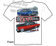 Nova T Shirts Chevy Shirt Chevrolet Clothing 1962 1963 1964 1965 1966 1967 Tee