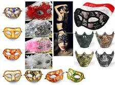 Venetian Women Lace Flower Translucent Mask For Masquerade Ball  Party Halloween