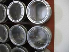 4 oz Applause™  - Set of 6 - Spice Tins only or add Magnetic Spice Rack Options