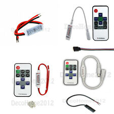 RF Control Wireless Remote Controller For RGB & Single Colour LED Strip Light