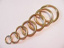 Brass O- Rings you choose your size ring