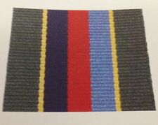 VRSM Full Size Medal Ribbon, Army, Military, Volunteer Reserve Service, TA