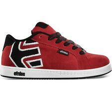 Etnies Boys Kids Fader Skate Shoes Red Black New 2014 Trainers