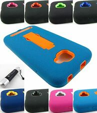 FOR BLU PHONES/DEVICE RUGGED HYBRID ARMOR IMPACT CASE COVER ACCESSORY+STYLUS/PEN