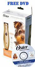 Oster Cordless Cord Hair Trimmer Clipper 78997-000 Narrow blade NiMH 120v & 220v