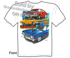 Chevelle T Shirt Chevy Shirt Muscle Car Apparel 1969 1970 1971 Malibu Chevrolet