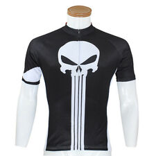 Ghost Teeth Men Sports Jersey Cycle Short Sleeve Jersey Cycling Bicycle Top Cool