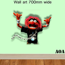 Childrens Muppets most wanted animal feature wall Wall Art Wall sticker Vinyl