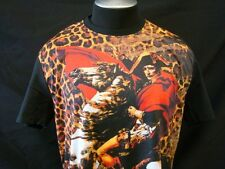 1025 BLACK WTO2 SUBLIMATION SOFT TSHIRT MEN NEW NAPOLEON HORSE PICTURE PRINT TEE