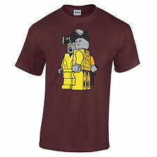 Breaking Bad Retro Lego T-Shirt TV Mr White Heisenberg Jessie Pinkman Funny Cool