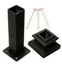 1 inch floor column flange square use with newel posts for 1 inch square floor flange
