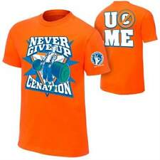 John Cena Orange Never Give Up Mens T-Shirt