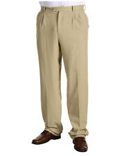 New Tommy Bahama Big & Tall Flying Fishbone Khaki Trousers Pants
