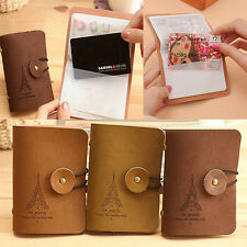 Unisex Eiffel Tower Wallet Credit Business ID Card Holder Organizer Case Bag