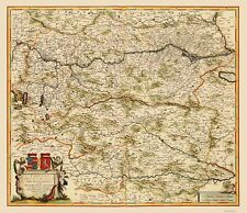 AUSTRIA BY F DE WIT 1688