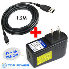 for 5v Verizon LG Motorola Droid VX MT USB Ac Adapter charger Power Supply Cord