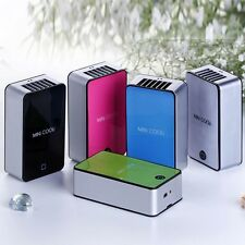 Portable USB Rechargeable Mini No Leaves Handheld Air Conditioning Fan 5 Color
