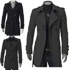Jeansian Mens Jackets Blazer Coats Shirts Tops Outerwear Black/Gray 5 Sizes 8948