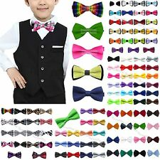 Wholesale Lots Boys kids Wedding Tuxedo Bowtie Baby Bow Ties Necktie Children