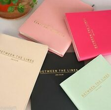 SECOND COLOR Diary Ver.2 Scheduler Agenda Planner Journal Organizer Notebook